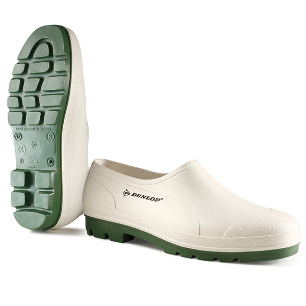 Dunlop Wellie Shoe Size 8 White Ref WG08 *Up to 3 Day Leadtime*