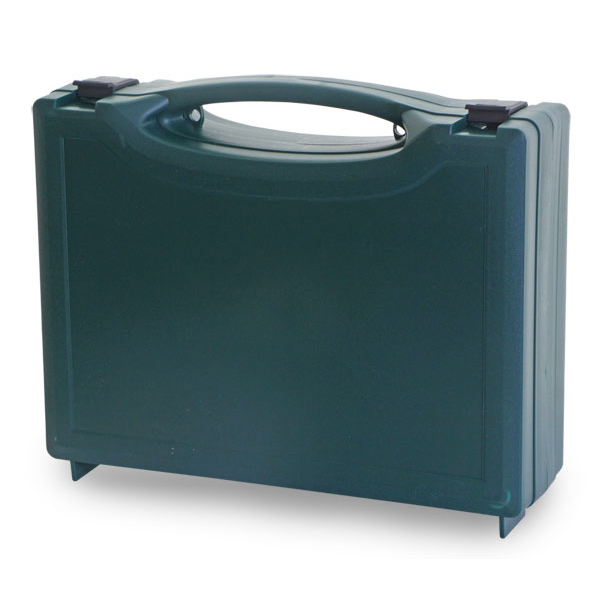Click Medical 2080 First Aid Box Priestfield Medium Green Ref CM1013 *Up to 3 Day Leadtime*