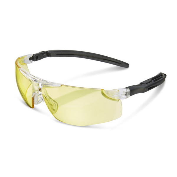 B-Brand Heritage H50 Anti-Fog Ergo Temple Spectacles Yellow Ref BBH50Y Up to 3 Day Leadtime