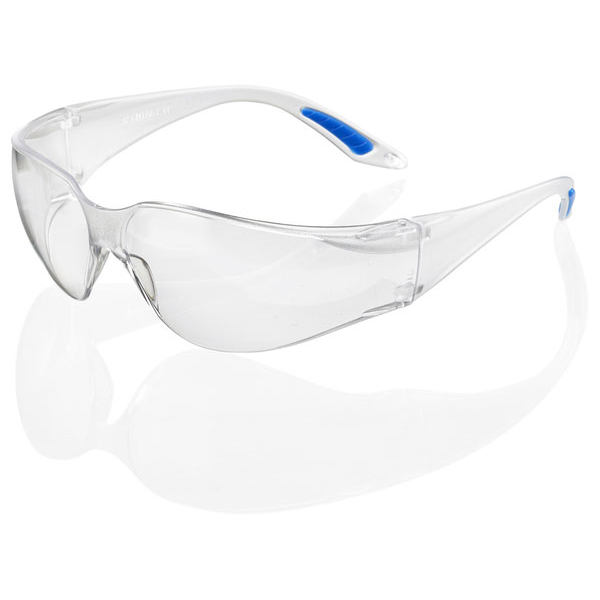 B-Brand Vegas Safety Spectacles Clear Ref BBVS [Pack 10] Up to 3 Day Leadtime