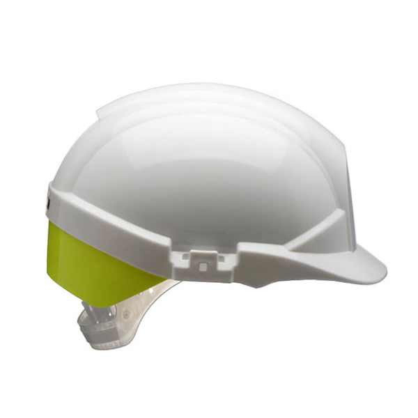 Limitless Centurion Reflex Safety Helmet White with Yellow Rear Flash White Ref CNS12WHVYA *Up to 3 Day Leadtime*