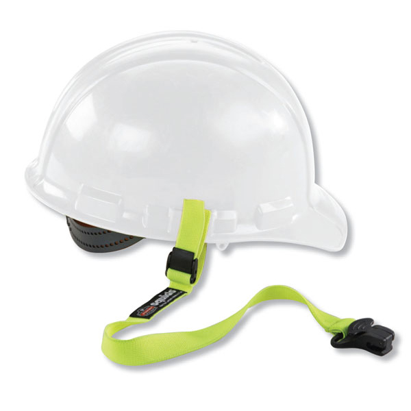 Equipment Ergodyne Elastic Hard Hat Lanyard-Clamp Ref EY3155 *Up to 3 Day Leadtime*