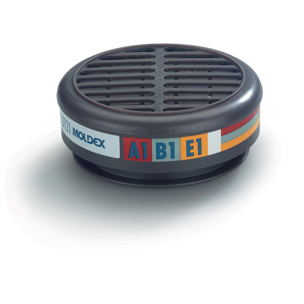Moldex 8200 Abe1 Filter Grey Ref M8200 [Pair] Up to 3 Day Leadtime