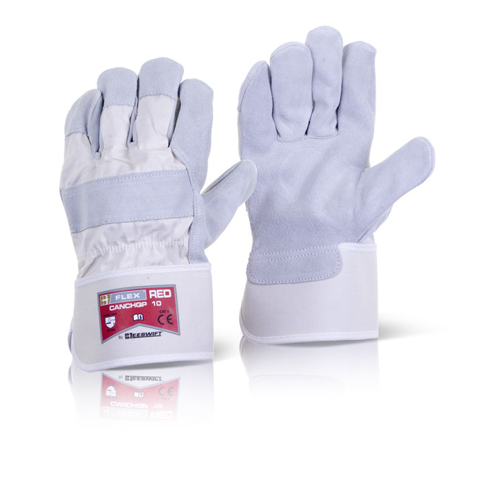 Image for B-Flex Canadian High Quality Red Rigger Glove Ref CANCHQP [Pack 100] *Up to 3 Day Leadtime*