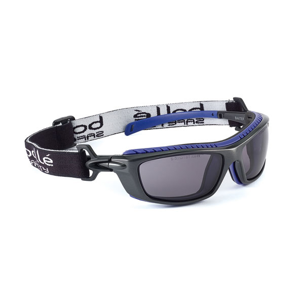 Bolle Baxter Platinum Safety Glasses Smoke Ref BOBAXPSF Up to 3 Day Leadtime