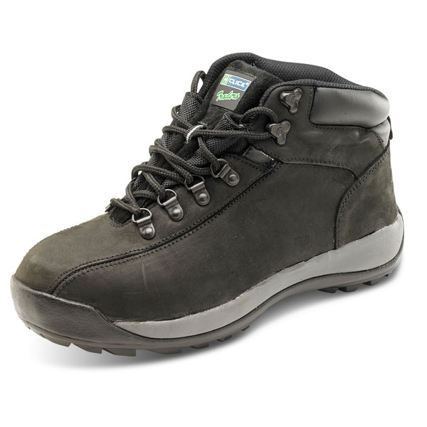 Click Traders SBP Chukka Boot EVA/Rubber/Leather Size 12 Black Ref CTF32BL12 *Up to 3 Day Leadtime*