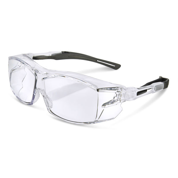 B-Brand Heritage H60 Ergo Temple Cover Spectacles Clear Ref BBH60 Up to 3 Day Leadtime