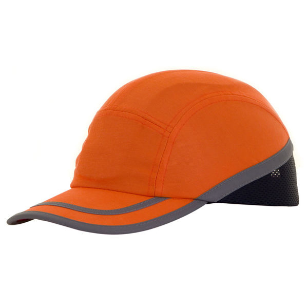 B-Brand Safety Baseball Cap Orange Ref BBSBCOR *Up to 3 Day Leadtime*