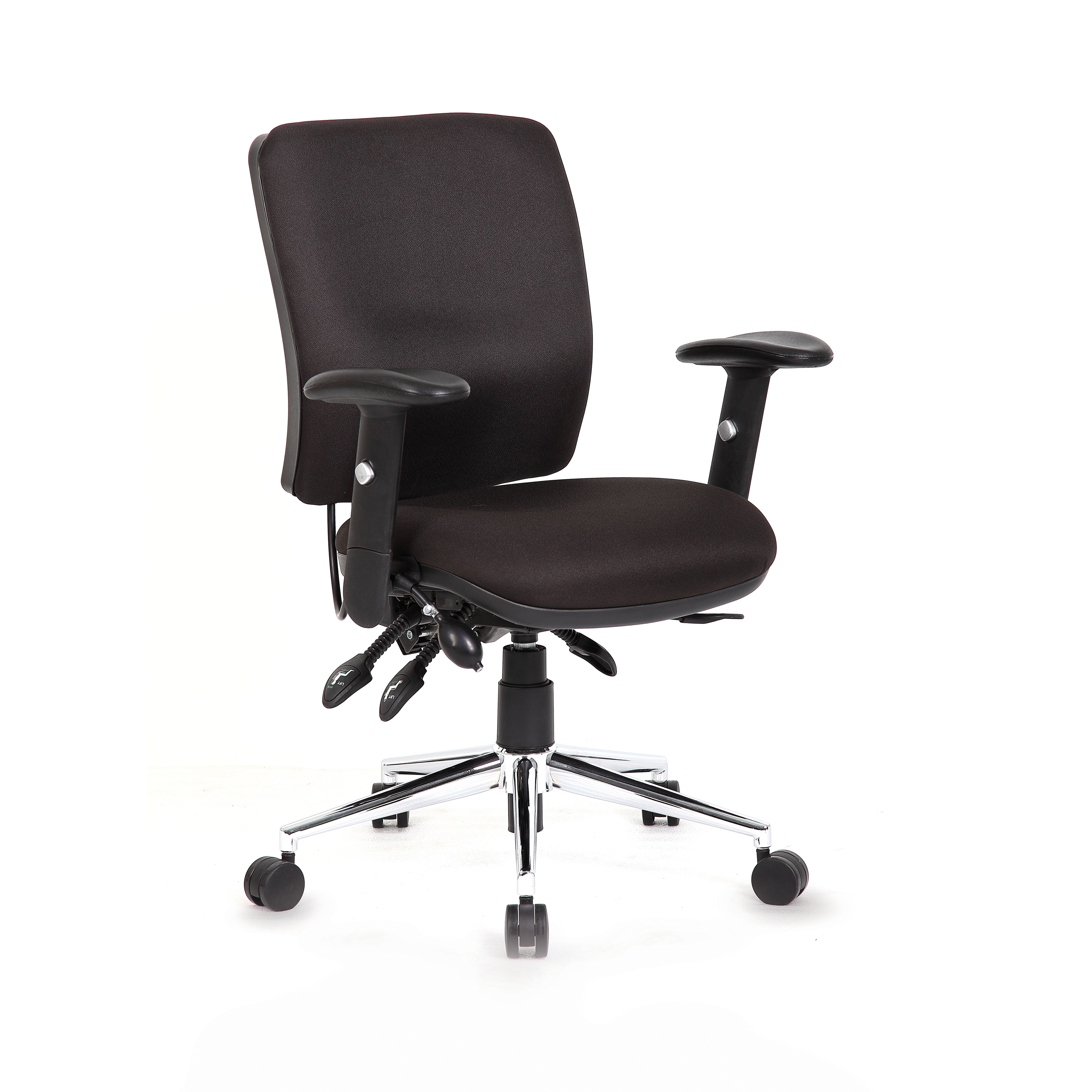 Task seating Sonix Support Chiro Chair Black 480x460-510x480-580mm Ref OP000010