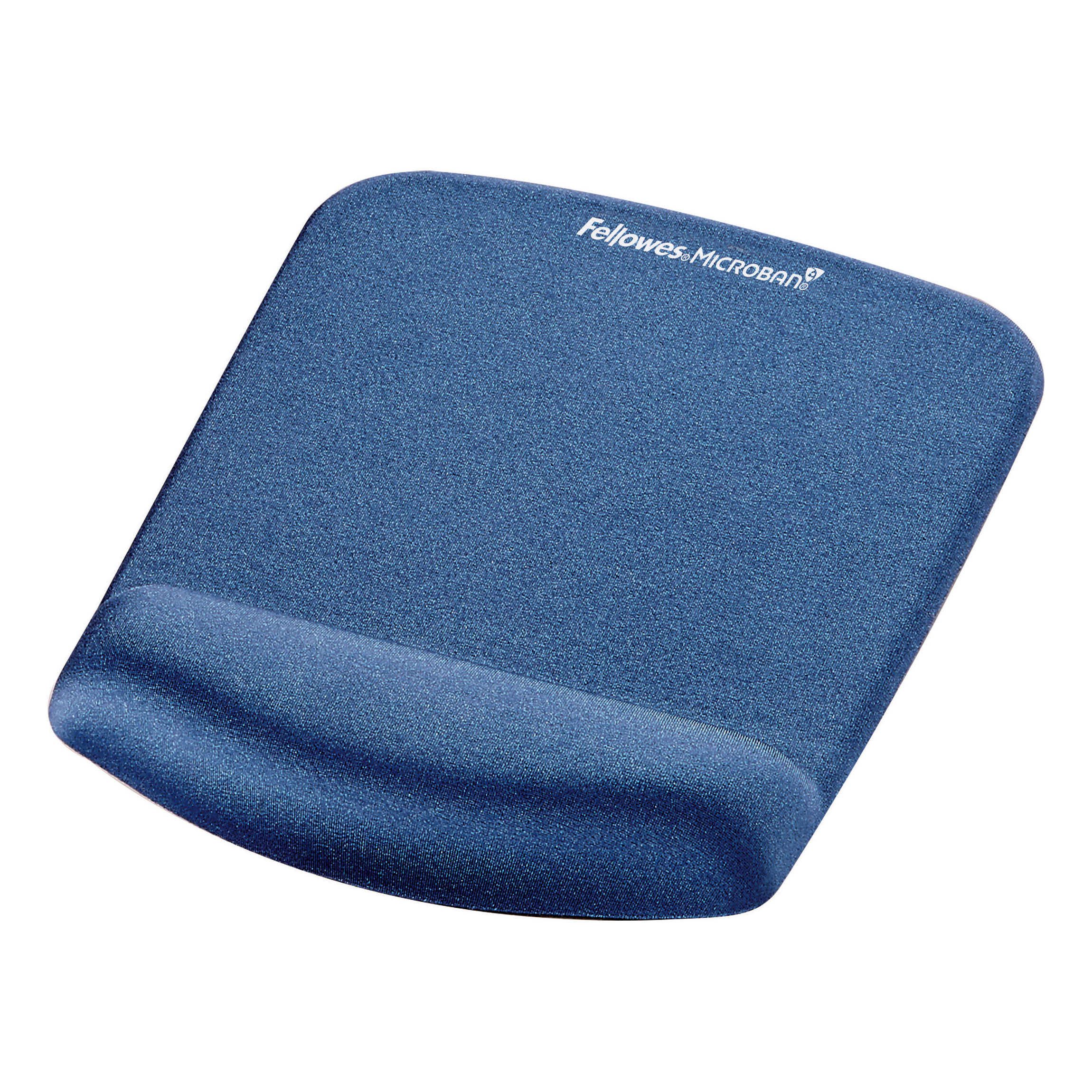 Mouse pads Fellowes PlushTouch Mousepad Wrist Support Blue- Microban 9387302