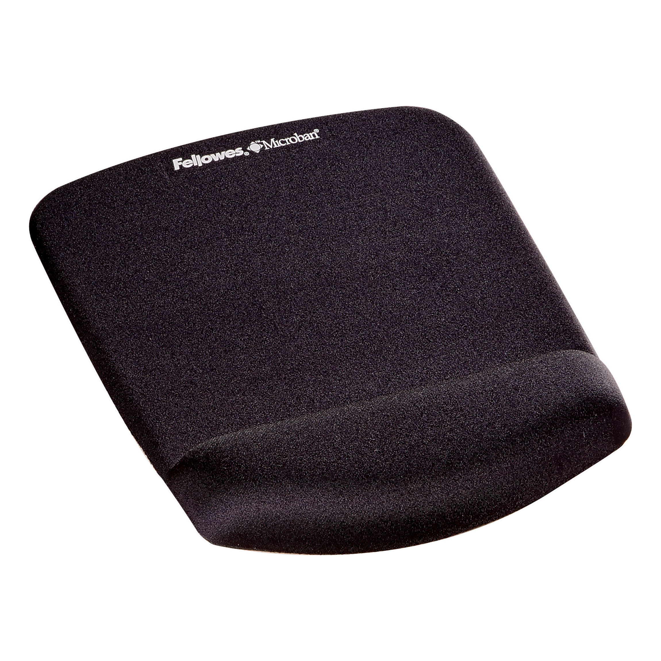Mouse pads Fellowes PlushTouch Mousepad Wrist Support Black- Microban 9252003