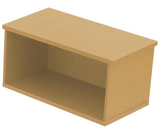 Image for Sonix Desk Top Storage Box Natural Oak