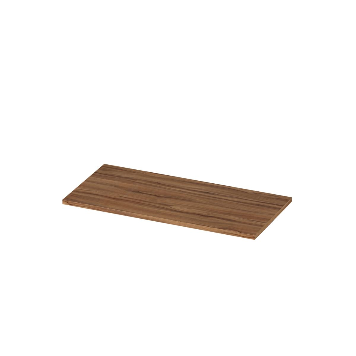 Trexus Shelves 800mm 1 Shelf Walnut