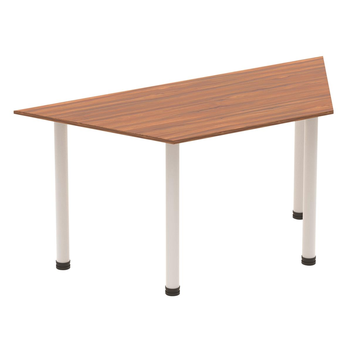 Image for Sonix Trapezium Table Post Leg 1600mm Walnut