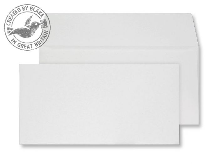 Creative Senses Wallet P&S Beautifully White 180gsm DL 110x220mm Ref DE243 Pk 50 *3 to 5 Day Leadtime*