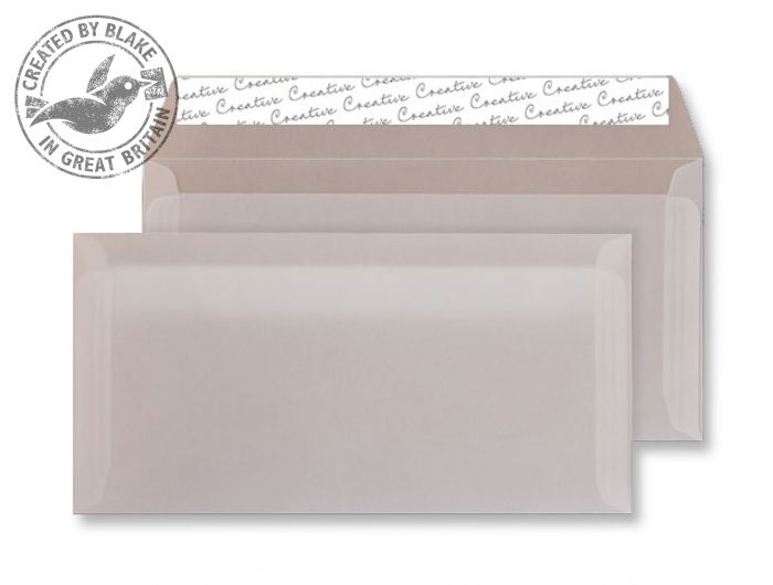Creative Senses Wallet P&S Translucent White 110gsm DL+ 114x229mm Ref 215 Pk 500 *3 to 5 Day Leadtime*