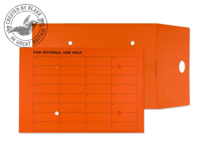 Purely Everyday Internal Mail Resealable Pumpkin Orange C4 25mm Ref 9003RES Pk125 *3 to 5 Day Leadtime*