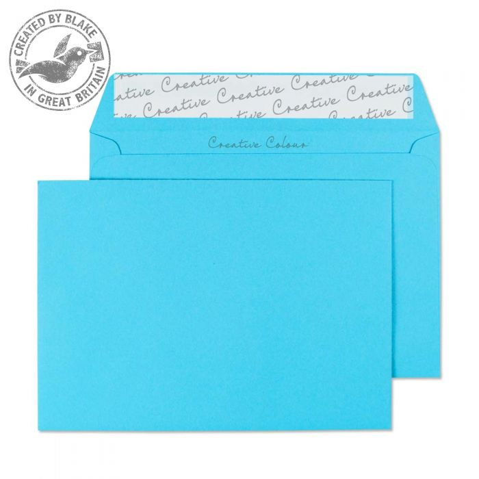 Creative Colour Cocktail Blue P&S Wallet C6 114x162mm Ref 109 [Pack 500] *3 to 5 Day Leadtime*