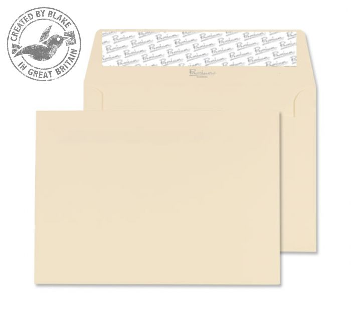 Blake Premium Business Wallet P&S Cream Wove C6 114x162 120gsm Ref 64882PS Pk 500 *3 to 5 Day Leadtime*