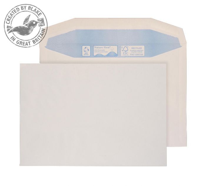 Purely Environmental Mailer Gummed White 90gsm C6 114x162mm Ref RN005 Pk 1000 *3 to 5 Day Leadtime*