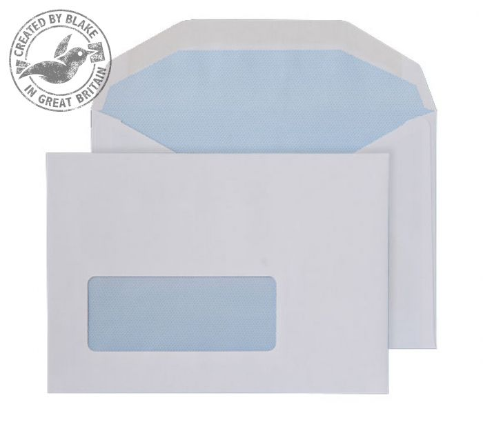 Purely Everyday Mailer Gummed Window White 80gsm C6 114x162mm Ref 2601 Pk 1000 *3 to 5 Day Leadtime*