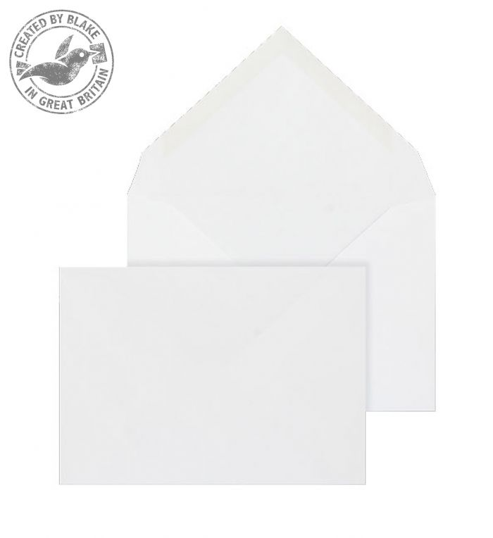 Purely Everyday Banker Invitation Gummed White 100gsm C6 114x162 Ref 2002 Pk1000 *3 to 5 Day Leadtime*