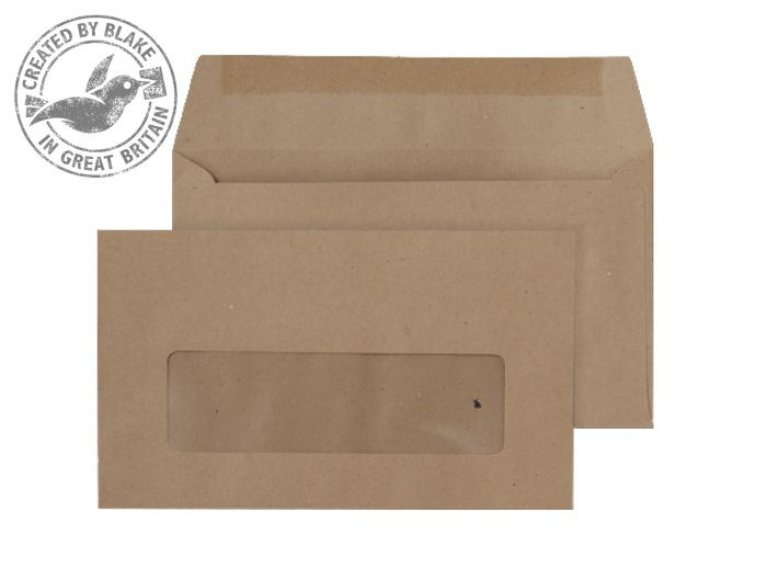 Purely Everyday Wallet Gummed Window Manilla 70gsm 89x152mm Ref 23770 Pk 1000 *3 to 5 Day Leadtime*