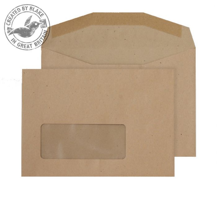 Purely Everyday Mailer Gummed Window Manilla 80gsm C6 114x162 Ref NV358 Pk 1000 *3 to 5 Day Leadtime*