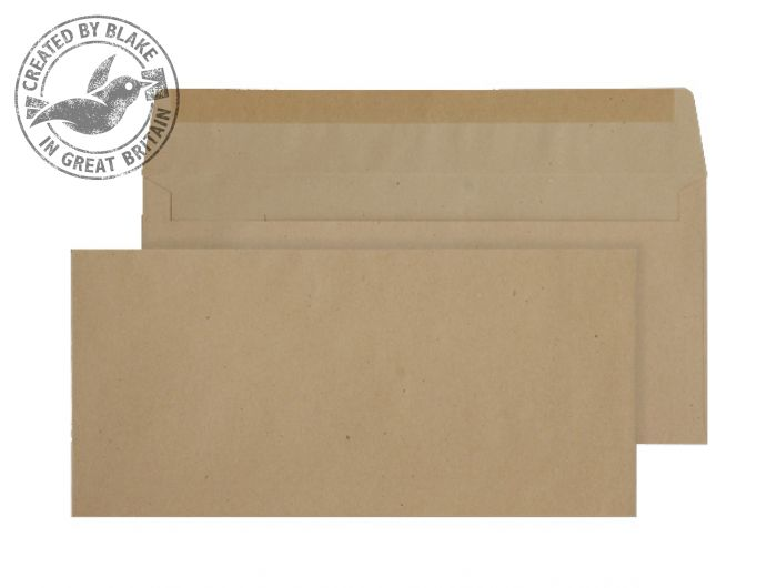 Purely Everyday Manilla Gummed Wallet BRE 102x216mm Ref 1700 [Pack 1000] *3 to 5 Day Leadtime*