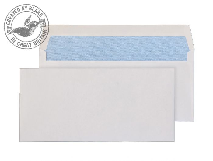 Purely Everyday Wallet Gummed White 80gsm BRE 102x216mm Ref 2700 [Pack 1000] *3 to 5 Day Leadtime*
