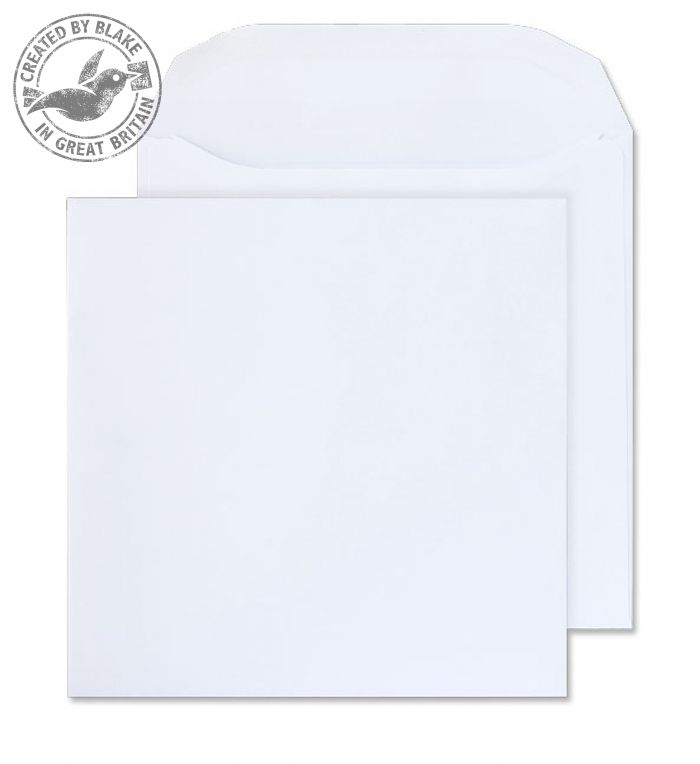 Purely Everyday Wallet Self Seal White 100gsm 220x220mm Ref 5701 [Pack 250] *3 to 5 Day Leadtime*