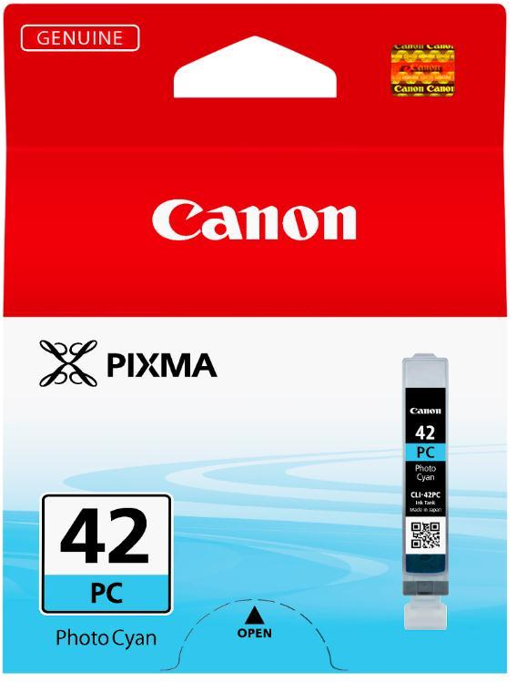 Canon CLI-42PC Photo Ink Tank Capacity 13ml Cyan Ref 6388B001