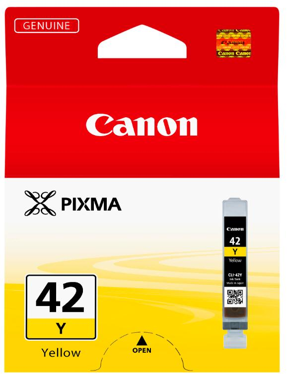 Canon CLI-42Y Inkjet Cartridge Capacity 13ml Yellow Ref 6387B001