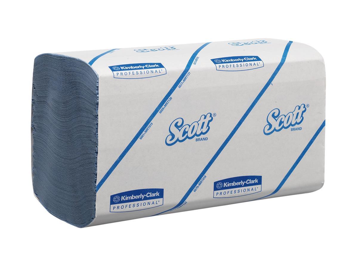 Scott Performance Hand Towels 212 Towels per Sleeve Ref 6664 [Pack 15 Sleeves]
