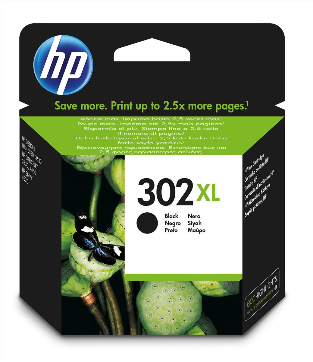 Hewlett Packard [HP] No. 302XL Ink Cartridge Black Ref F6U68AE