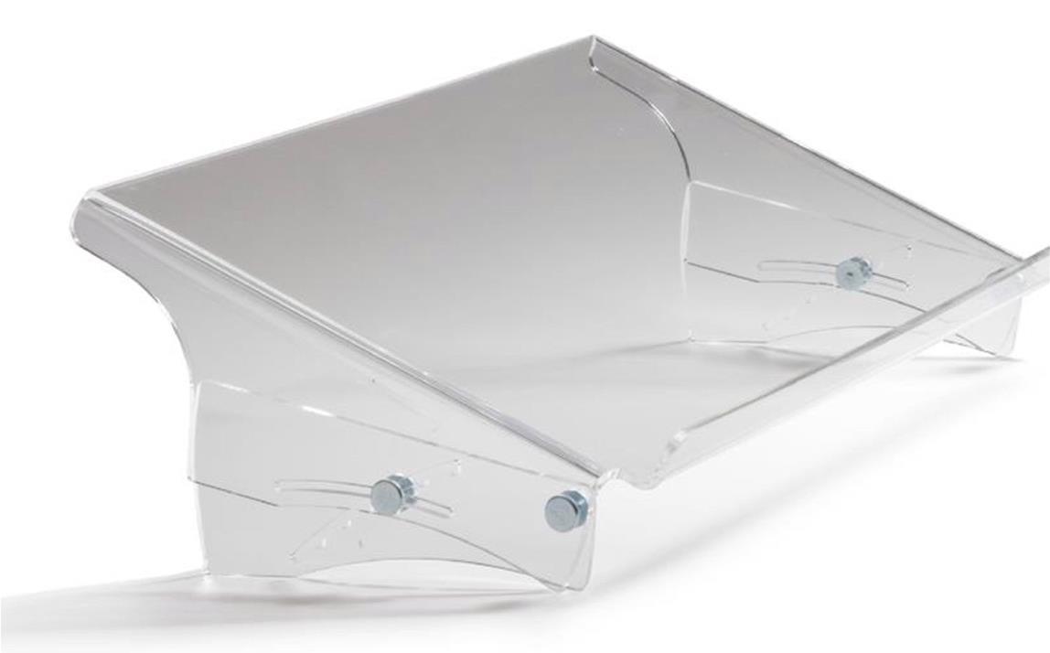 Bakker Elkhuizen Q-doc 515 Document Holder Height-adjustable 7 Positions A3 Clear Ref BNEQDOC515