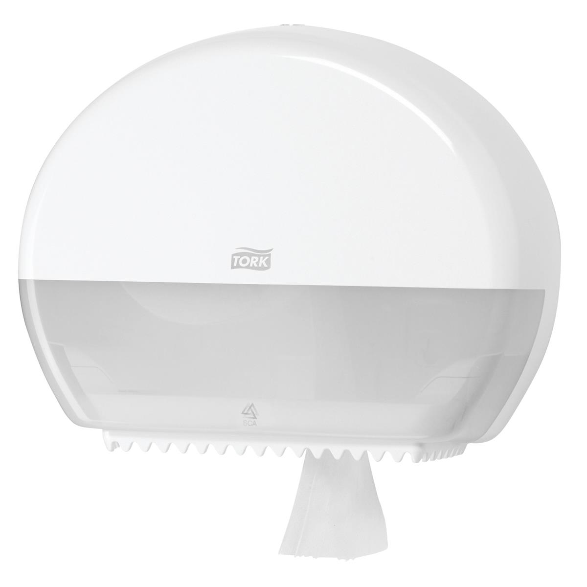 Tork Mini Jumbo Roll Dispenser White Ref 555000