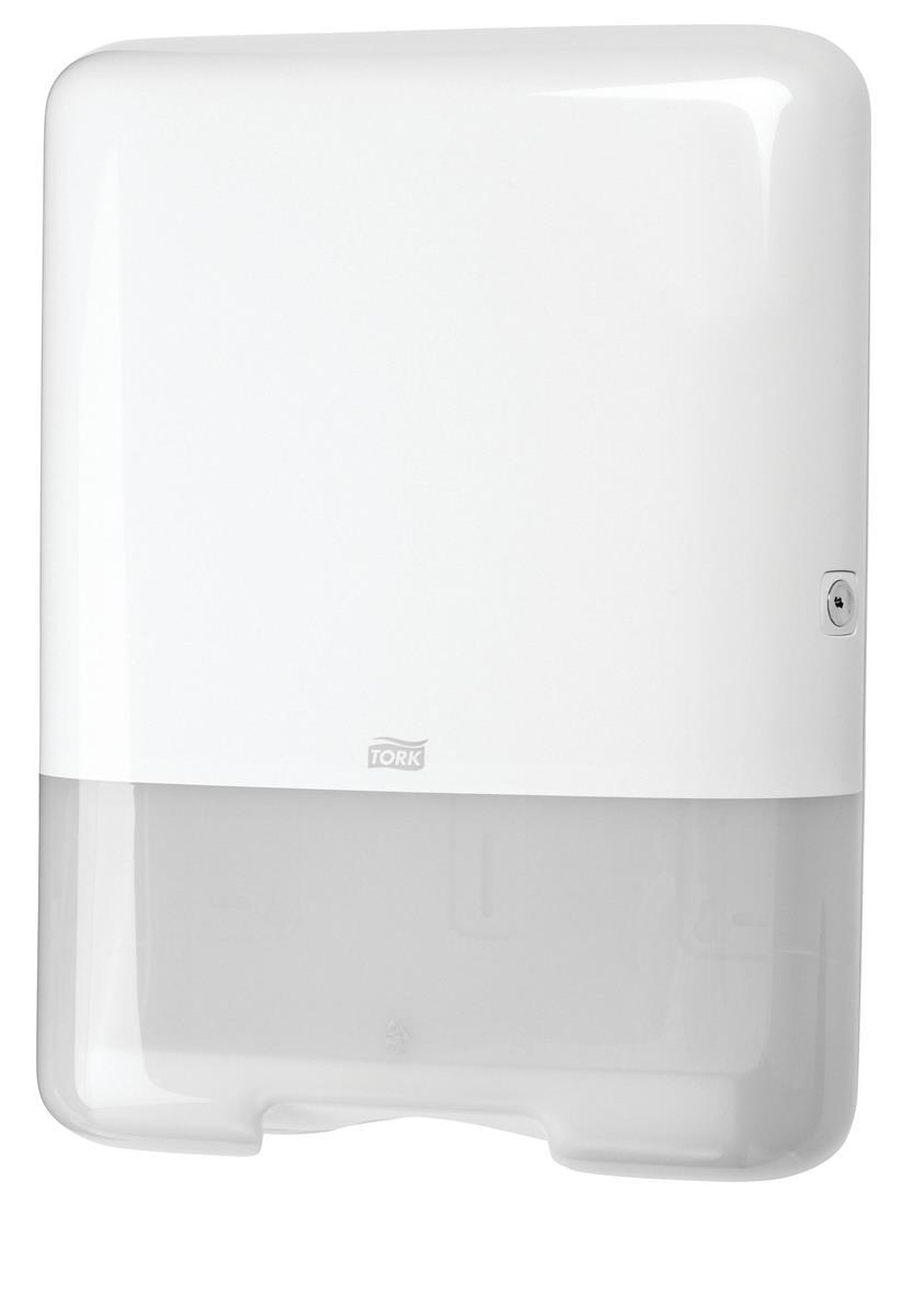 Tork Single-fold Hand Towel Dispenser Plastic White Ref 553000