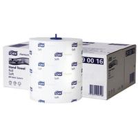 Tork Premium Hand Towel Roll 100m White Ref 290016 [Pack 6]