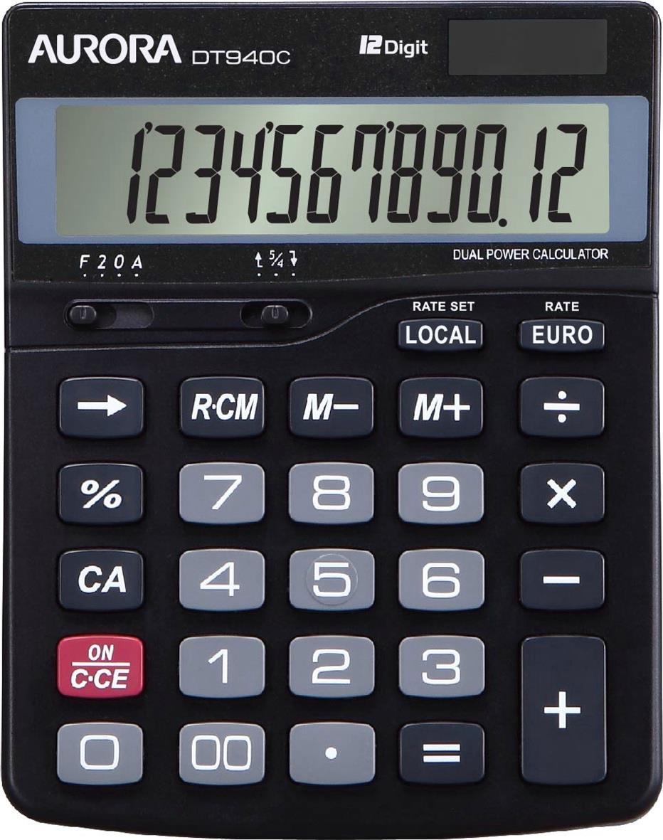 Aurora Semi Desk Calculator Ref DT940C