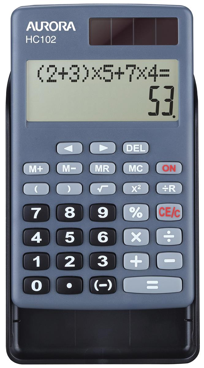 Aurora Pocket Calculator Ref HC102