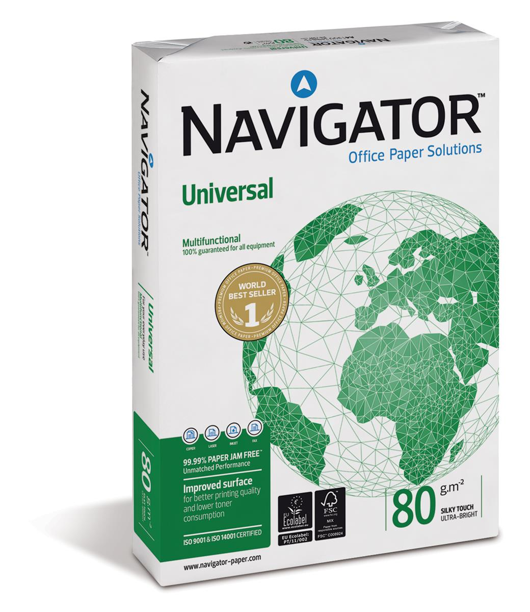 Navigator Universal Paper A4 80gsm Fast Pack [2500 Sheets]