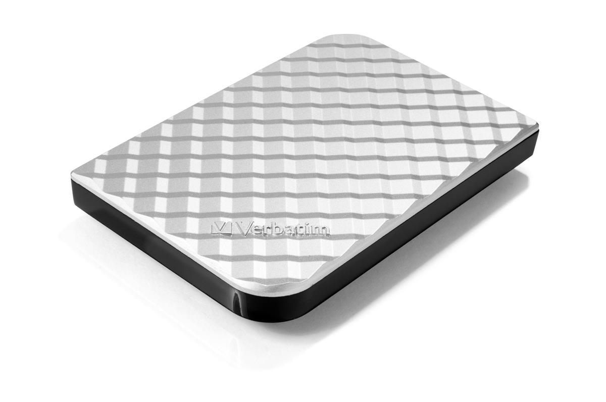 Verbatim Portable Hard Drive 2TB Silver Ref 53198