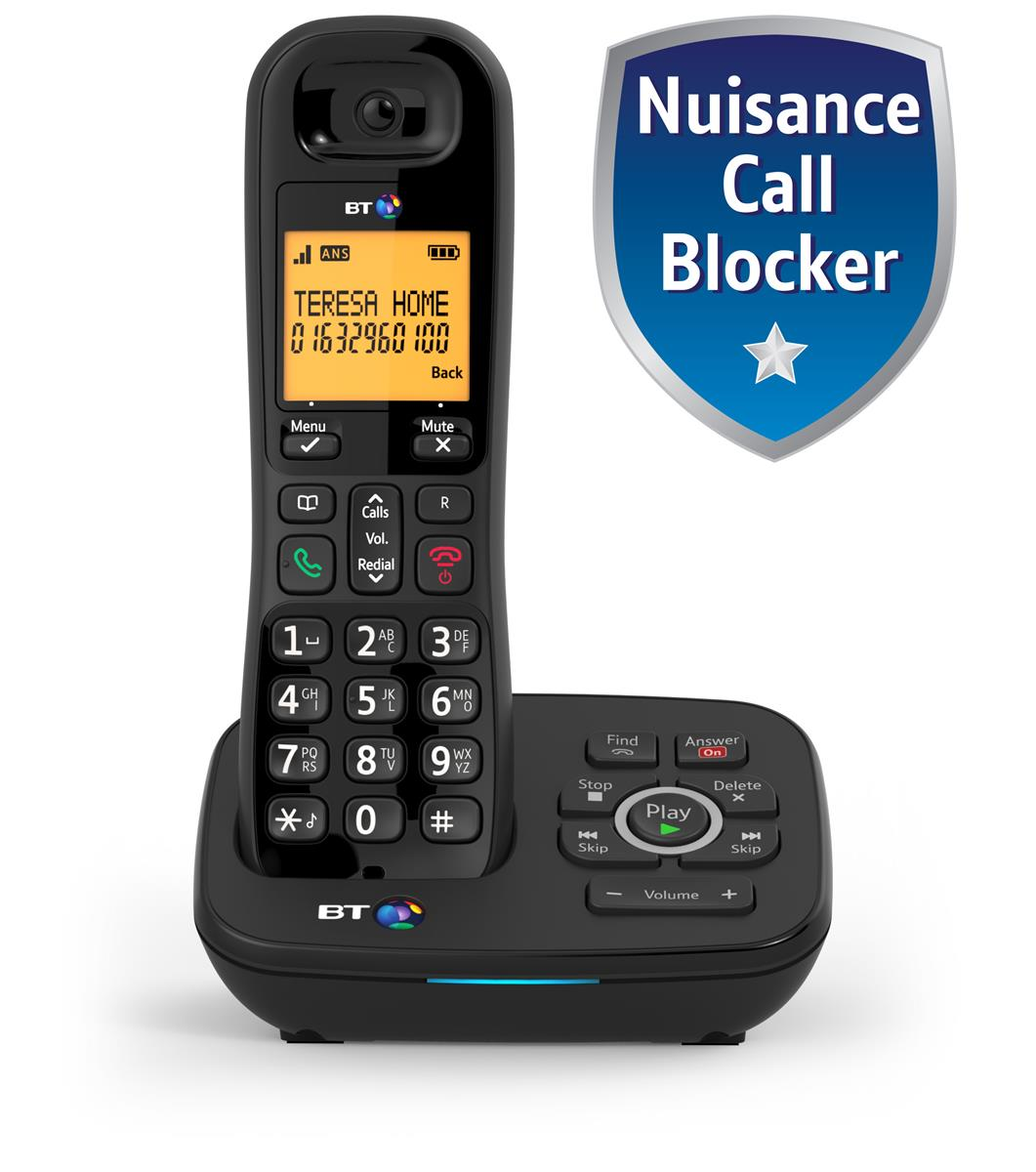 Image for BT 1700 Dect Telephone Nuisance-call Blocking Single Ref 57399