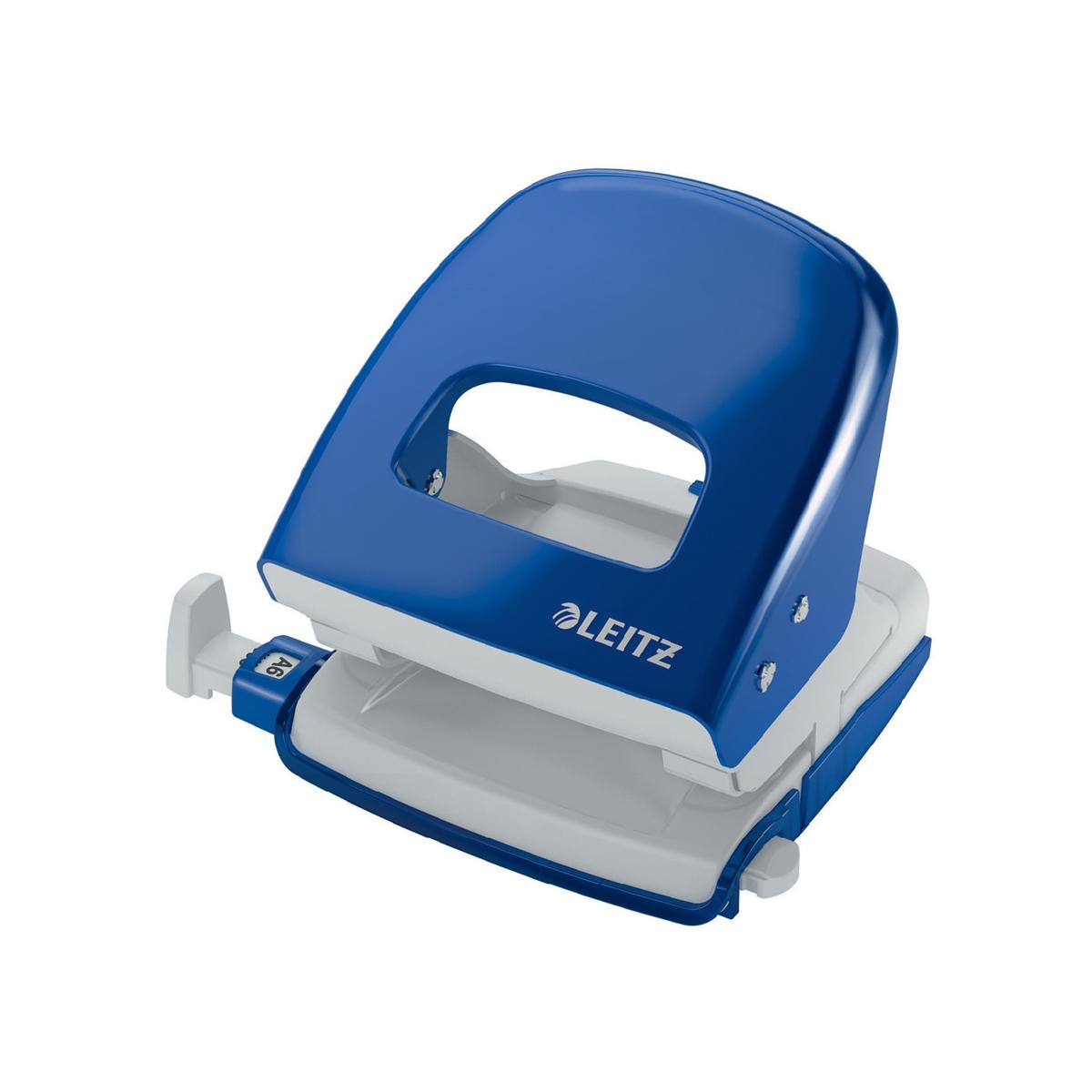 Leitz NeXXt Hole Punch 3mm 30 Sheet Blue Ref 50080035