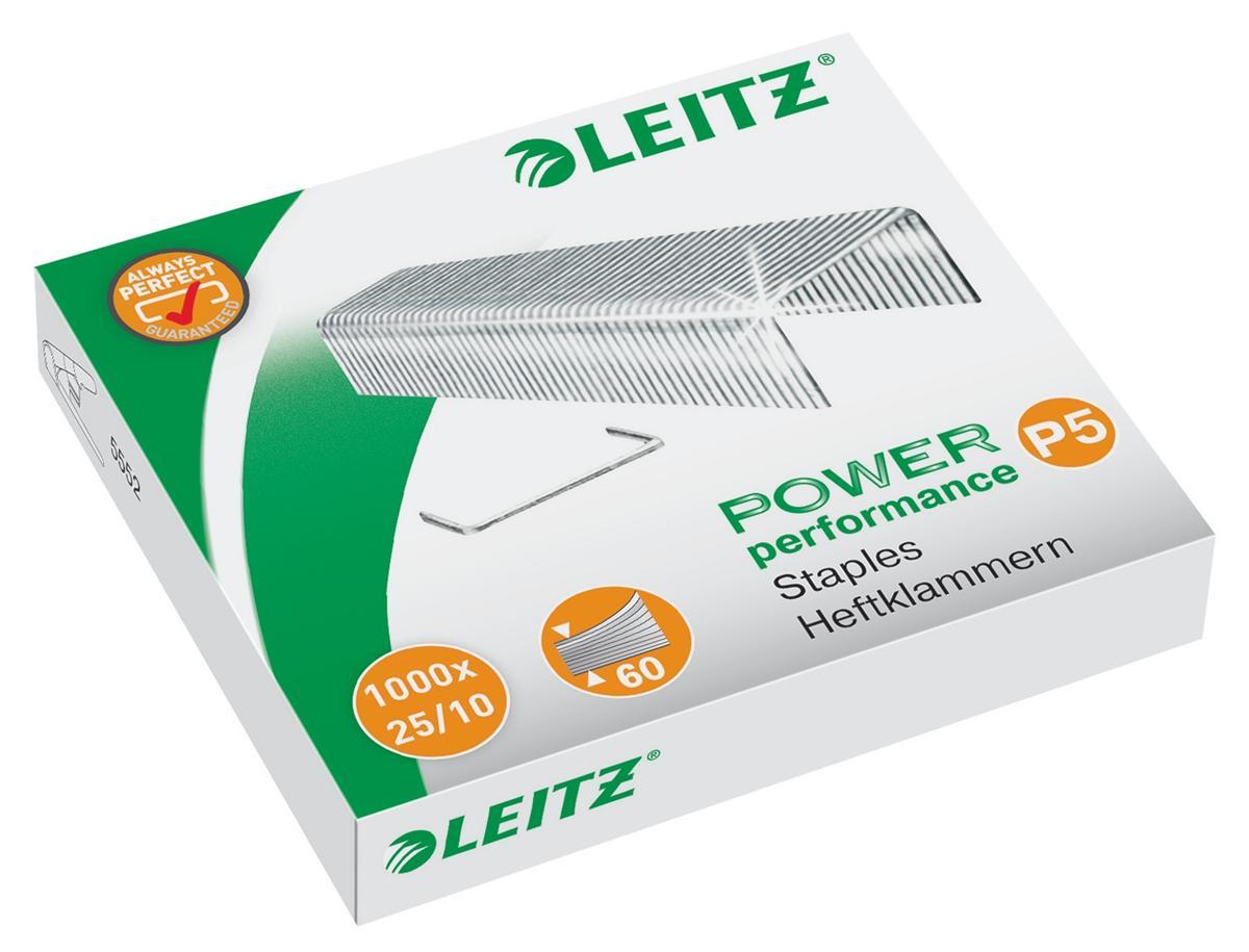 Leitz Staples 25/10 Ref 55740000L [Pack 1000]