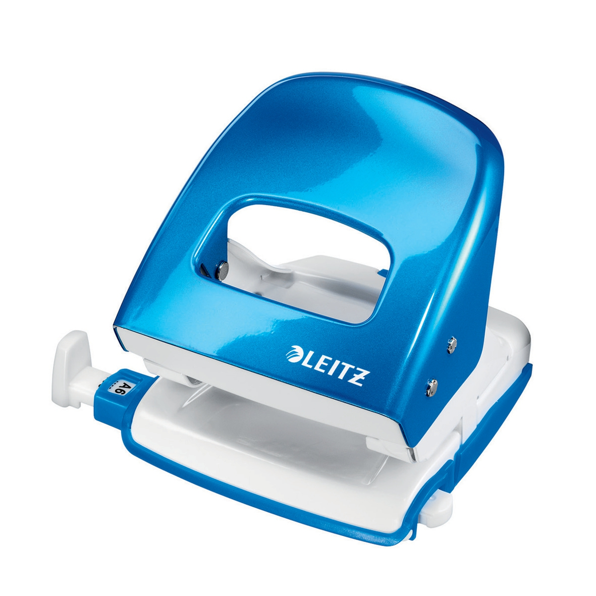 Leitz NeXXt WOW Hole Punch 3mm 30 Sheet Blue Ref 50081036L
