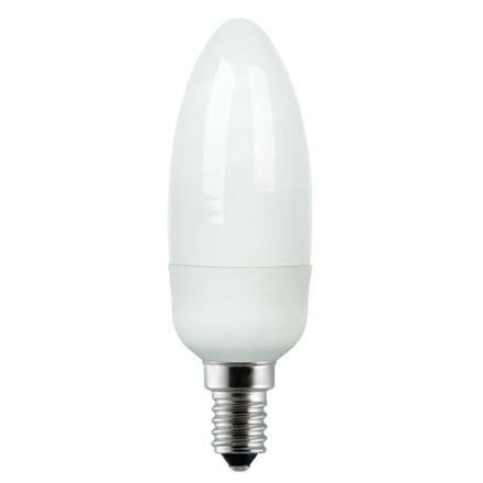 GE 7W T2 Heliax E14 Compact Fluores Bulb ExtWrmWhite 320lm Ref33939 A Rating *Up to 10 Day Leadtime*