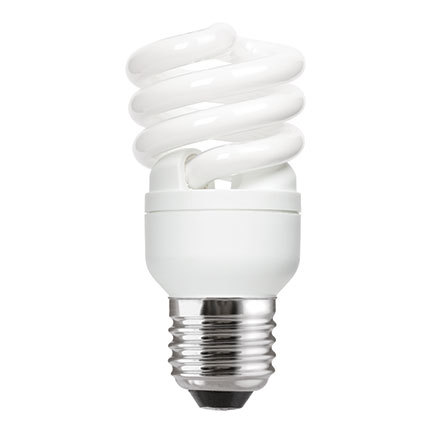 GE 12W T2 Heliax E27 Compact Fluores Bulb ExtWrmWhite 715lm Ref85640 A Rating *Up to 10 Day Leadtime*