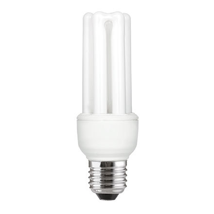 GE 15W T3 Hex E27 Compact Floures Tube CoolWhite 850lm Ref72375 A Rating *Up to 10 Day Leadtime*